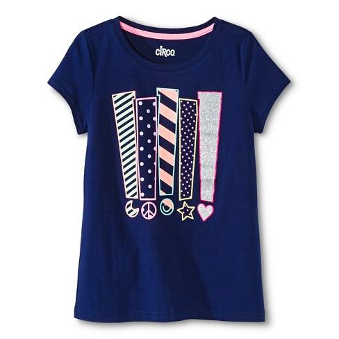 1cf4c147e443c Girls' Graphic T-Shirt - Circo™ Nightfall Blue S : Target