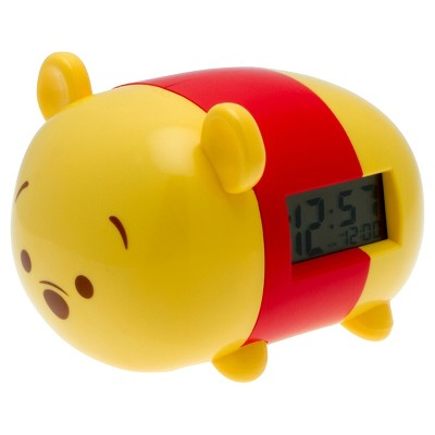 Disney Tsum Tsum® Winnie the Pooh Light-up Alarm Clock Yellow - BulbBotz®