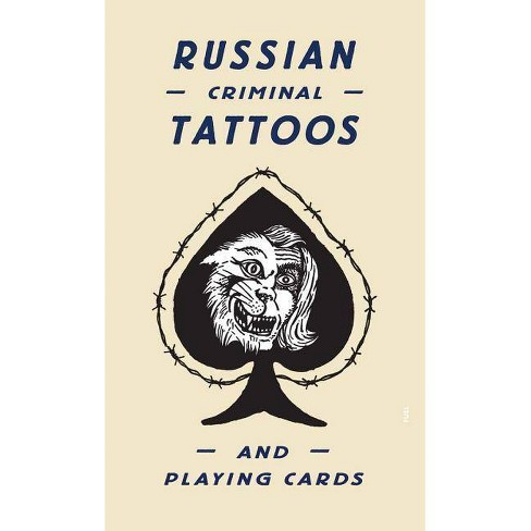 Russian Criminal Tattoos and Playing Cards - (Hardcover) - image 1 of 1