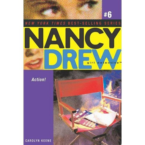 Action! - (Nancy Drew: Girl Detective (Aladdin)) by  Carolyn Keene (Paperback) - image 1 of 1