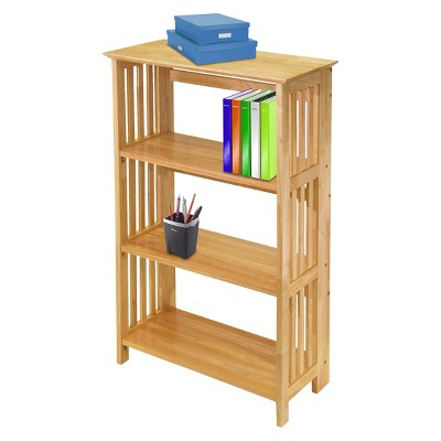 '42'' 4 Tier Foldable Bookcase - Winsome'