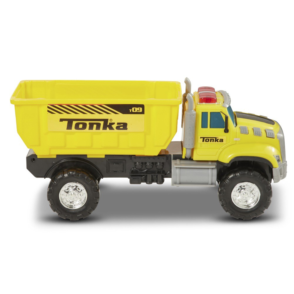 Tonka Mighty Fleet Drop Dump Bin Rescue Vehicles, Green
