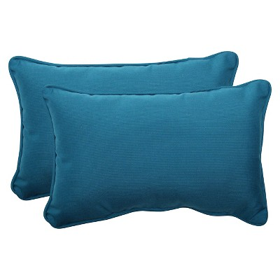 Sunbrella® Outdoor 2-Piece Rectangular Throw Pillow Set