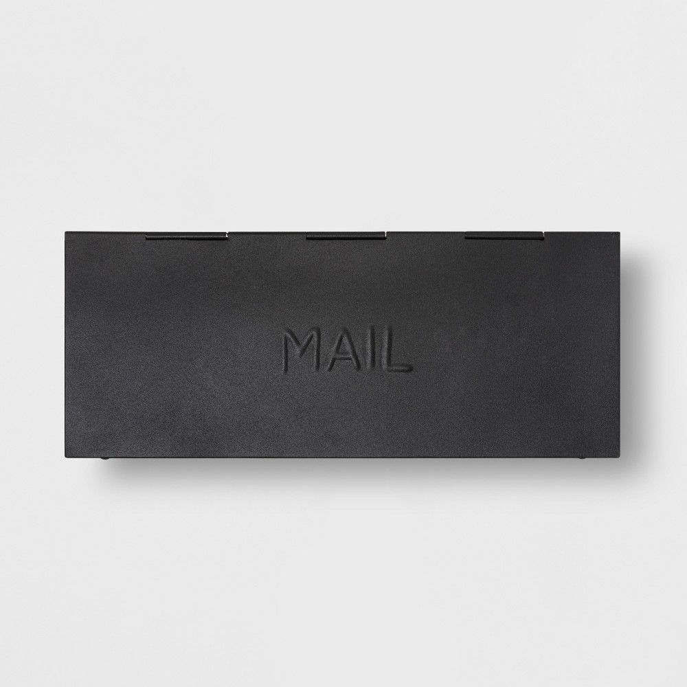 Mail Box - Black - Smith & Hawken