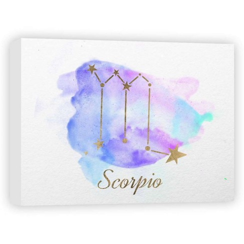 """Scorpio Decorative Canvas Wall Art 11""""x14"""" - PTM Images - image 1 of 1"""