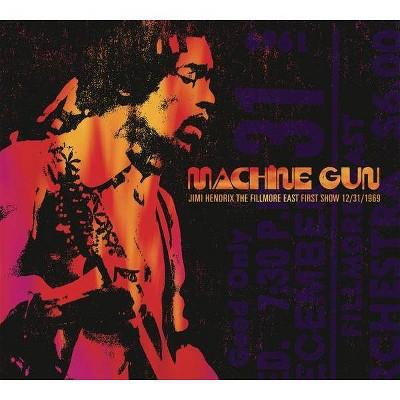 Jimi Hendrix - Machine Gun Jimi Hendrix: The Fillmore East First Show 12/31/1969 (CD)