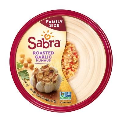 Sabra Roasted Garlic Hummus - 17oz