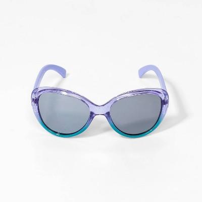 Toddler Girls' Frozen 2 Sunglasses - Blue