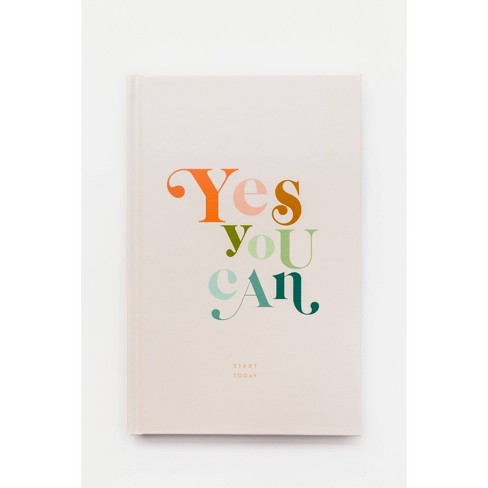 Yes You Can Journal - Target Exclusive Edition by Rachel Hollis (Hardcover) - image 1 of 4