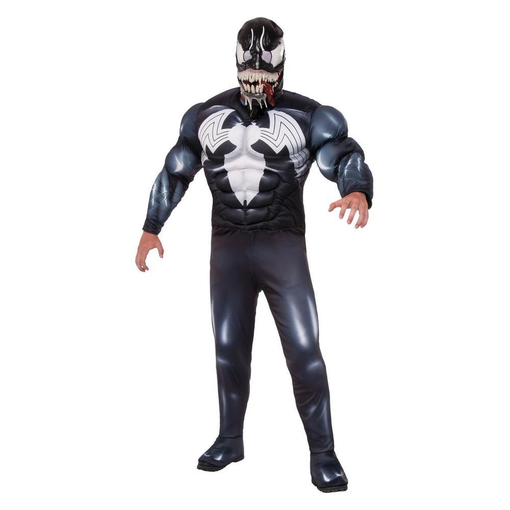 Mens Marvel Venom Halloween Costume L Multicolored