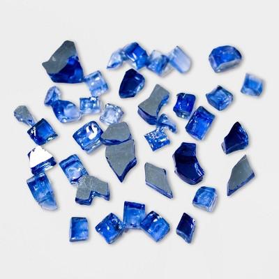Reflective Fire Pit Fire Glass - North Blue - AZ Patio Heaters