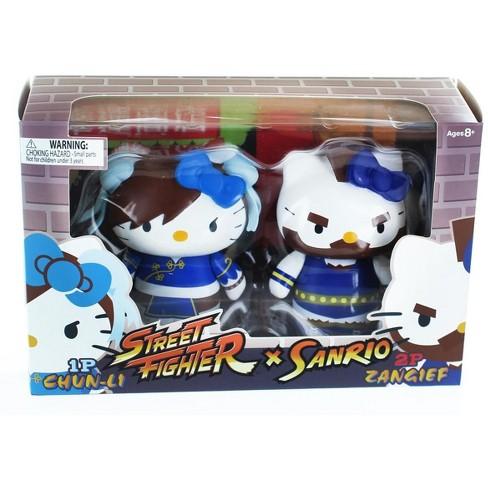 Toynami, Inc  Hello Kitty Street Fighter 2 Figure Pack ChunLi & Zangief