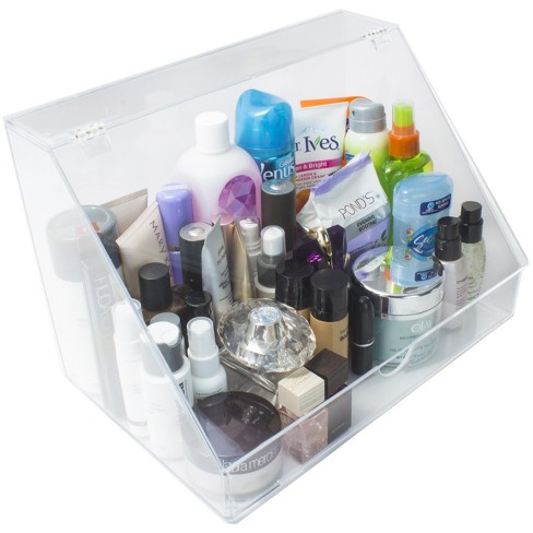 Sorbus Makeup Organizer Display Case & Palette Holder with Slanted Front Open Lid - image 1 of 3