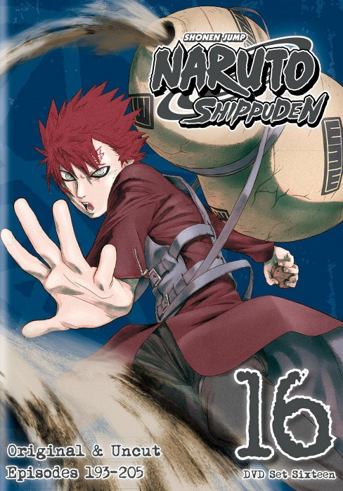 Naruto Shippuden Box Set 16 (DVD) - image 1 of 1