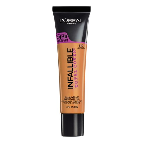L'Oreal® Paris Infallible Total Cover Foundation - Tan Shades - 1 fl oz - image 1 of 3