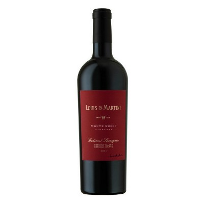 Louis M Martini Monte Rosso Cabernet Red Wine - 750ml Bottle