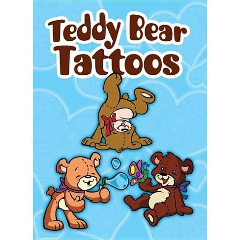 Teddy Bear Tattoos - (Dover Tattoos) by  Stephanie Laberis (Mixed media product) - image 1 of 1