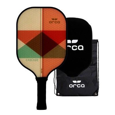 MD Sports Orca Cascade Polymer Honeycomb Pickleball Paddle with Neoprene Cover and Carry Bag