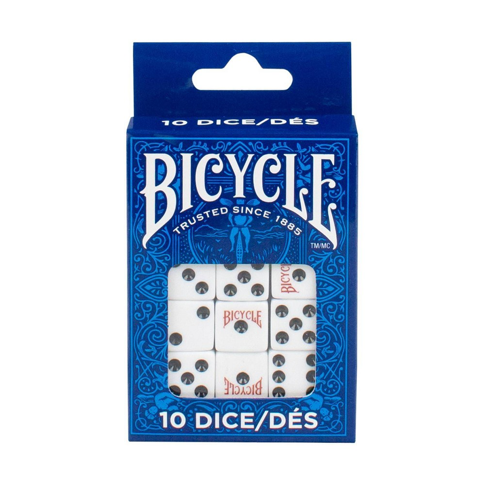 Bicycle Dice Pack Of 10