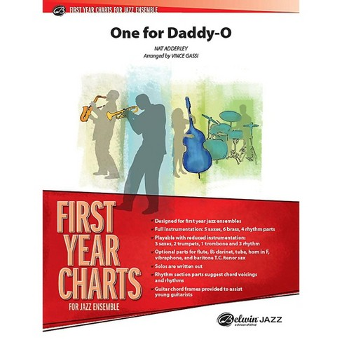 Alfred One for Daddy-O Jazz Band Grade 1 Set - image 1 of 1