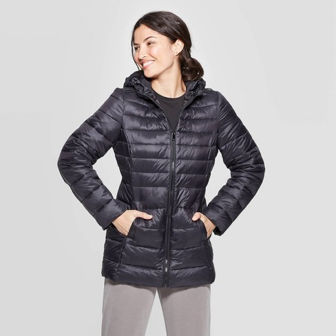 Women's Light Weight Puffer Jacket - A New Day™ - image 1 of 2