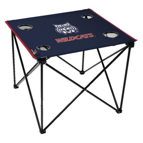 NCAA Arizona Wildcats Portable Table - image 1 of 1