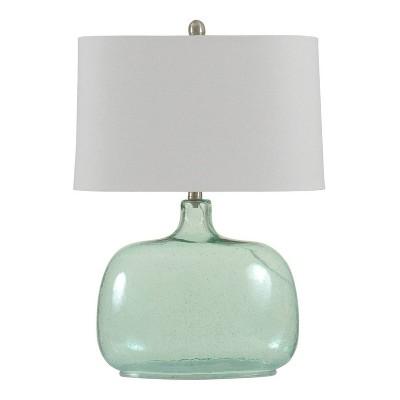 Table Lamp Teal Nights - StyleCraft