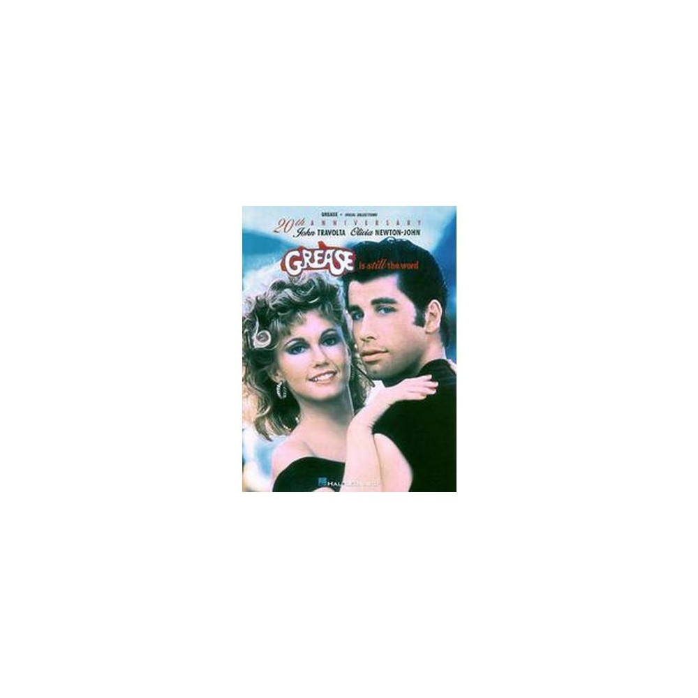 Grease Is Still the Word Vocal Selections : Piano/Vocal (Paperback) (Hal Leonard Publishing Corporation)