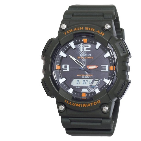 Casio Men's Solar Sport Combination Watch - Green (AQS810W-3AVCF) - image 1 of 1