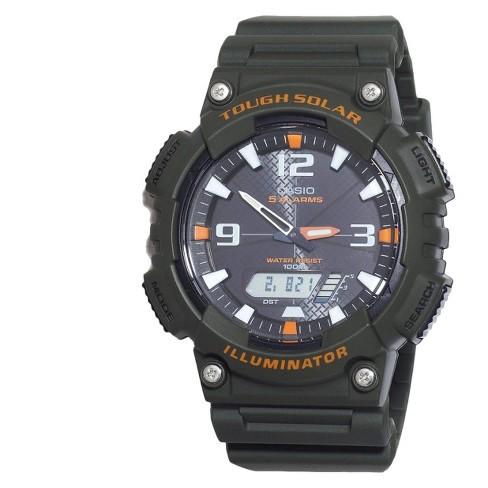 Casio Men's Solar Sport Combination Watch - Green (AQS810W-3AVCF) - image 1 of 1