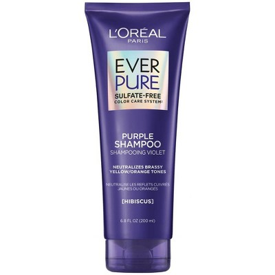 L'Oreal Paris EverPure Sulfate Free Purple Shampoo for Colored Hair - 6.8oz