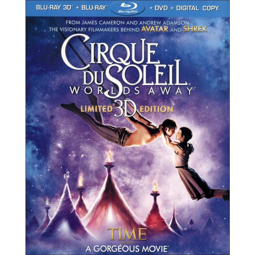 Cirque du Soleil: Worlds Away [Includes Digital Copy] [UltraViolet] [3D] [Blu-ray]