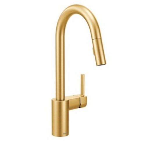 Moen 7565 Align Pull Down Spray Kitchen Faucet Brushed Gold Target