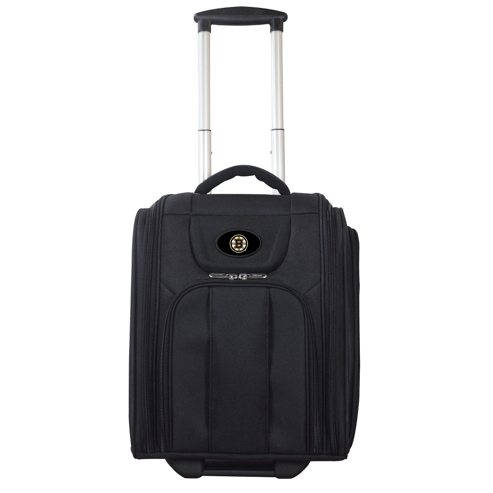 NHL Boston Bruins Deluxe Wheeled Laptop Briefcase Overnighter, Adult Unisex, Size: Small