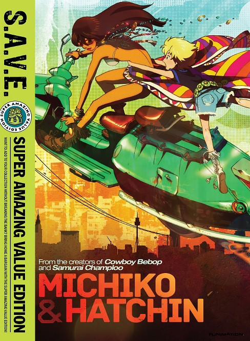 Michiko & hatchin:Complete series (DVD) - image 1 of 1