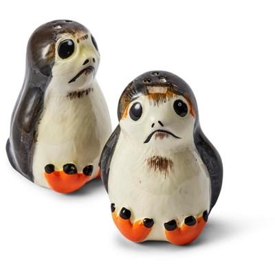 Seven20 Star Wars Porgs Salt & Pepper Shakers   Official Star Wars Ceramic Spice Shakers