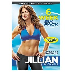 Jillian Michaels 6 Week Six-Pack (DVD)