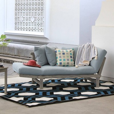 Westlake Convertible Sofa Daybed with Cushion - Blue Spruce - Cambridge Casual