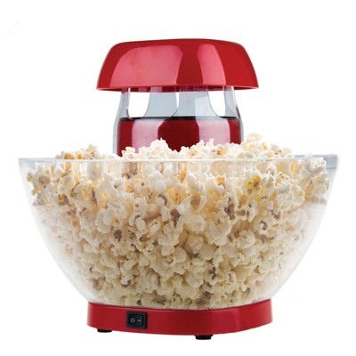 Brentwood Jumbo 24-Cup Hot Air Popcorn Maker in Red