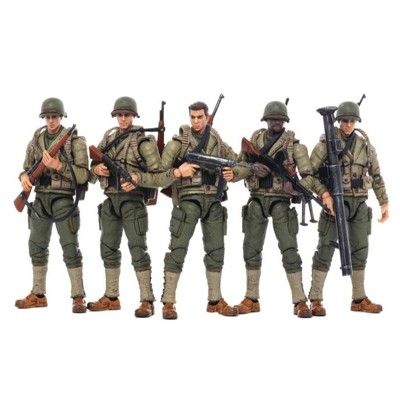 WWII US Army Set of 5   Joy Toy Action figures