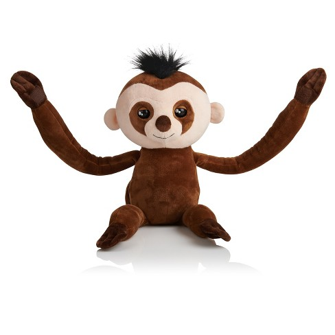 Brand New Fingerlings Brown Kingsley The Interactive Baby Sloth