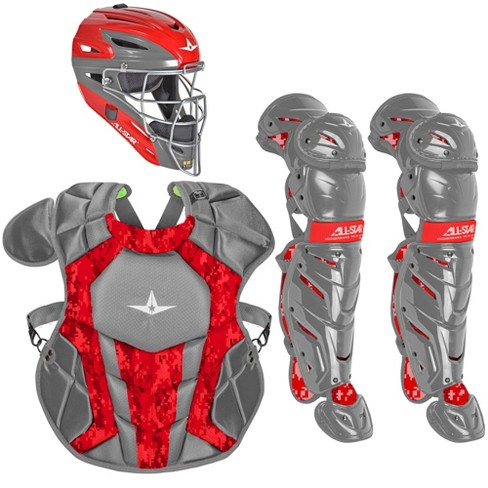 All-Star System7 Axis Camo NOCSAE Youth Catcher's Package - image 1 of 1