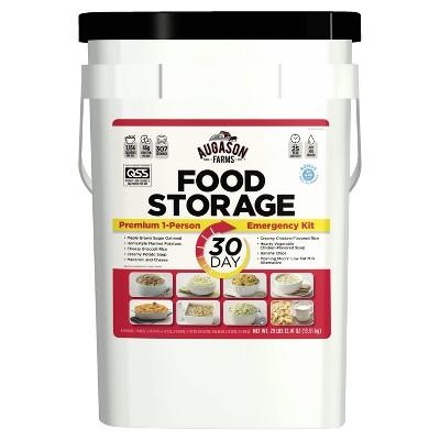 Augason Farms 30-Day Emergency Food Storage Supply - 29lb Pail