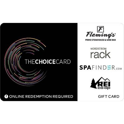 The Choice Card Gift Card $100 (Email Delivery)
