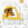 Sago Mini Tuck Me In Quilt Trucks and Diggers - image 3 of 4
