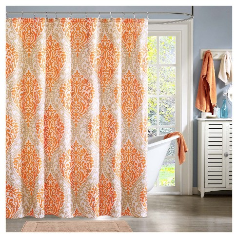 Chelsea Microfiber Printed Shower Curtain