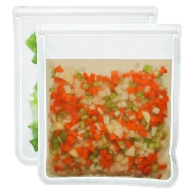 (re)zip Leak-proof Reusable Gallon Storage Bag - 2ct