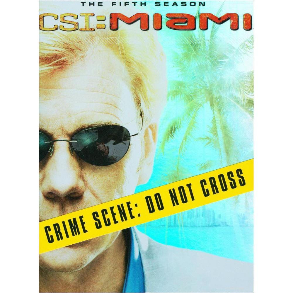 Csi:Miami Complete Fifth Season (Dvd)
