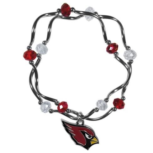 Arizona Cardinals Stretch Bead Bracelet