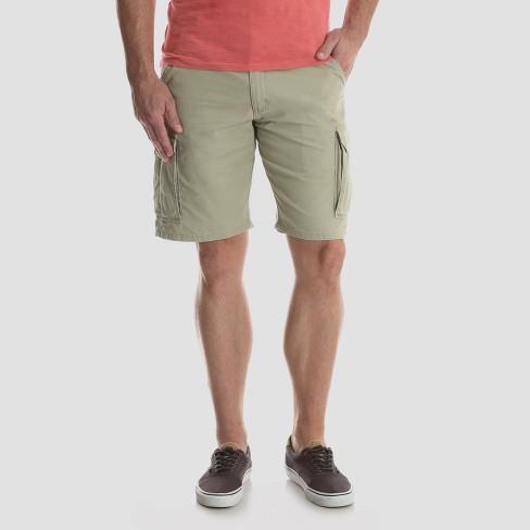 01d114e853 Wrangler Men's Twill Cargo Shorts. Shop all Wrangler